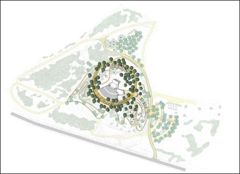 68 עצי השקמה החדשים יצטרפו לנוף הירוק שקיים בשטח (באדיבות אב אדריכלות נוף וססליה ויטס כשר)