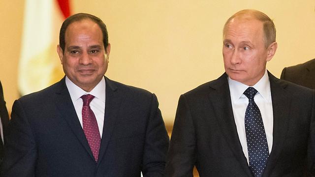 Путин и Аль-Сиси в Каире. Фото: ЕРА