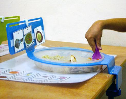 פתרון מעשי וגם פידבק של הילדים (עיצוב וצילום: זוהר שרון וטל בטיט)