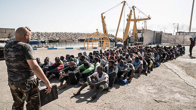 The report said the Libyan coast guard accepted kickbacks from smugglers to let migrant boats leave for Europe (Photo: Amnesty International)