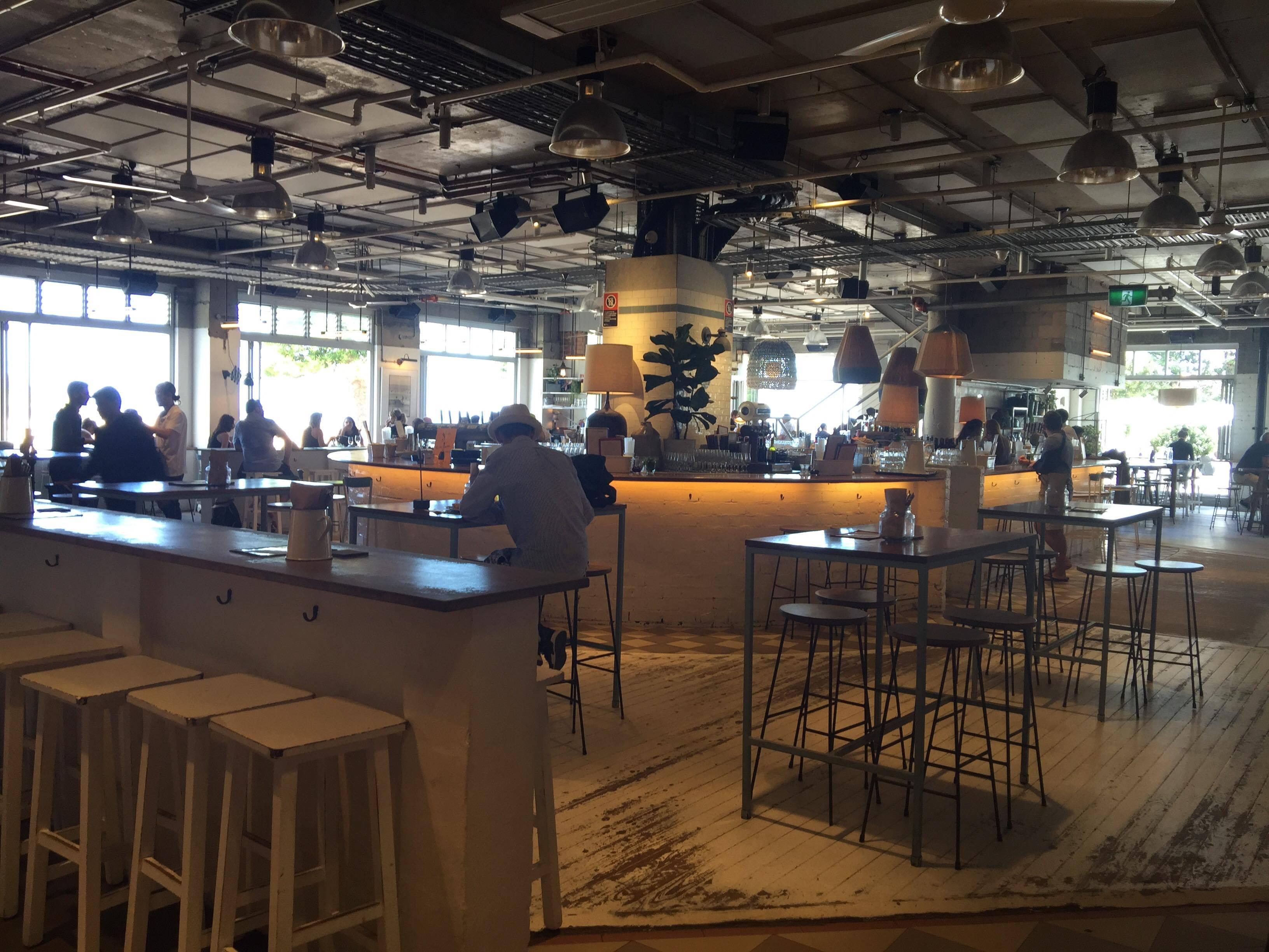 מסעדת Coogee Pavilion: מקום יפה, פיצה טעימה (צילום: שיר אפרים) (צילום: שיר אפרים)