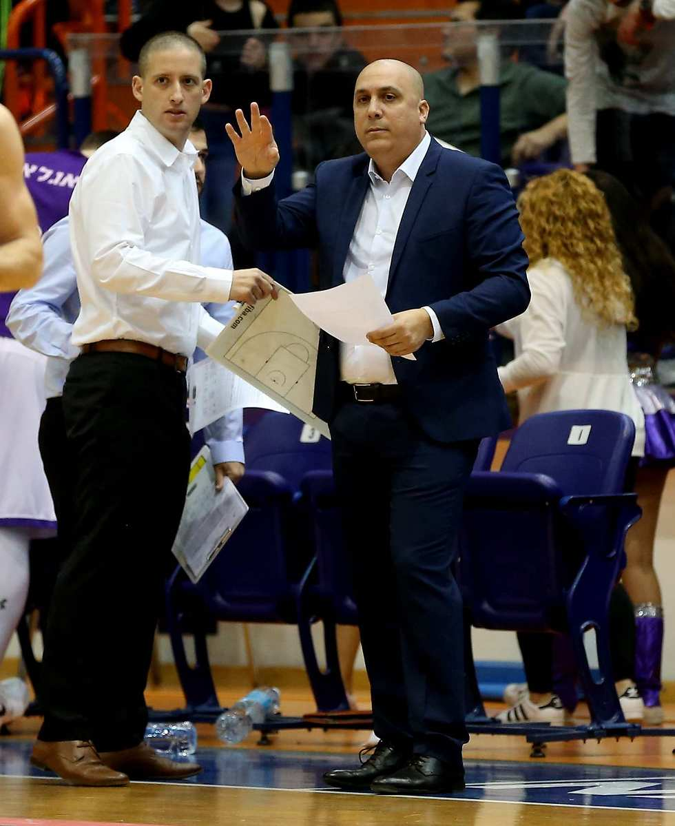 מאמן עירוני נהריה, אריק אלפסי (צילום: אלעד גרשגורן) (צילום: אלעד גרשגורן)