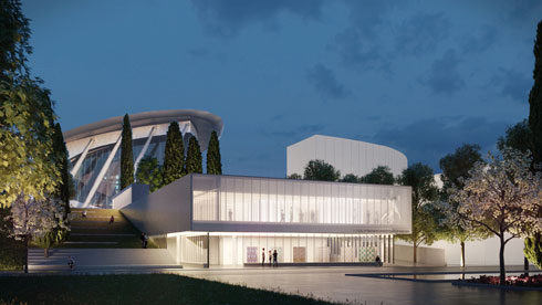 הדמיית ההצעה של דני מינץ (באדיבות מינץ מלמד אדריכלים)