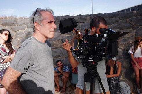 """רן טל, הבמאי. """"הסרט גרם לי להבין שיש לי יכולת לפענח אנשים"""", אומרת אשתר (צילום: תולי חן)"""
