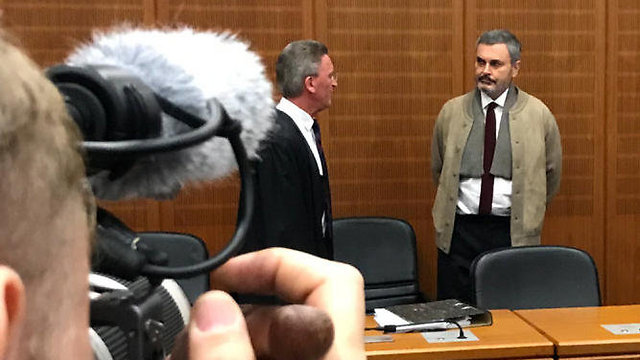 Ausonius in court (Photo: Reuters)