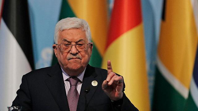 """""""הממשל האמריקני מחוץ לתהליך השלום"""". אבו מאזן (צילום: AP) (צילום: AP)"""