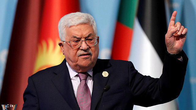 Abbas. The Europeans have their own problems and the Palestinians definitely can't rely on the Arab states  (Photo: Reuters)