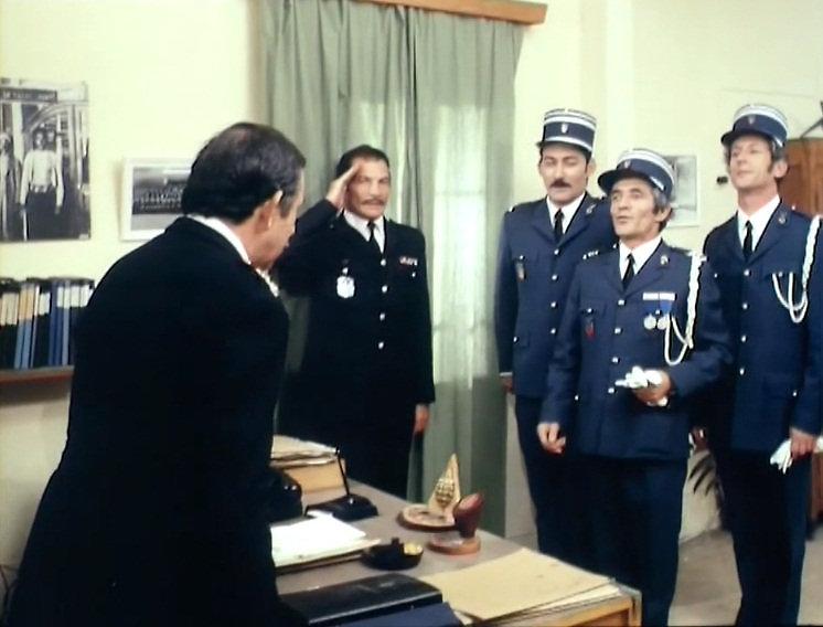 """מבנה המשטרה מבפנים בזמנו, מתוך """"השוטר אזולאי"""""""