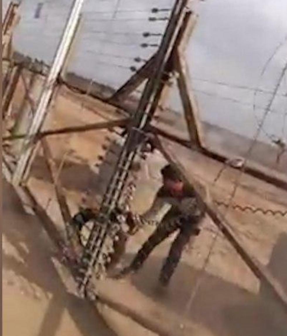 Screenshot of footage