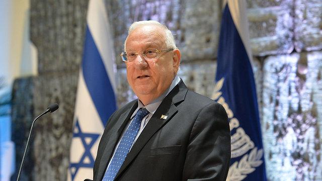 President Rivlin (Photo: Kobi Gideon/GPO)