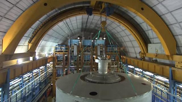 מעבדת המחקר בגראן סאסו (צילום: youtube) (צילום: youtube)