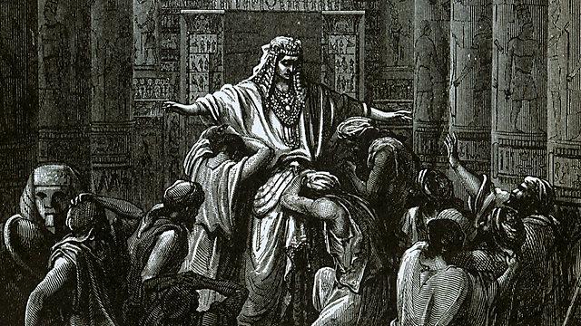מבעד לדמעות של יוסף רואים מנהיג (ציור: גוסטב דורה) (ציור: גוסטב דורה)