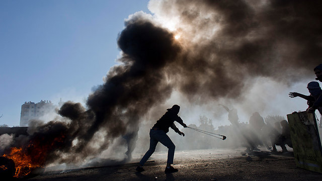 West Bank demonstrations (Photo: AP)