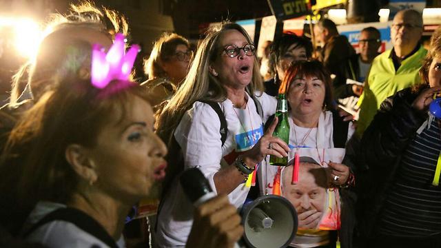 Protesters in Tel Aviv (Photo: Motti Kimchi)