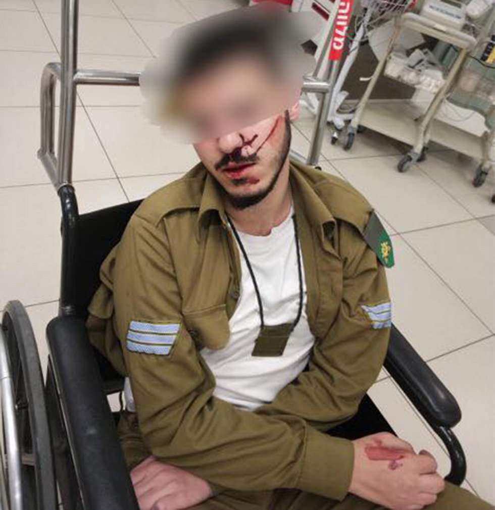 The Druze soldier allegedly assaulted in a similar incident two weeks ago
