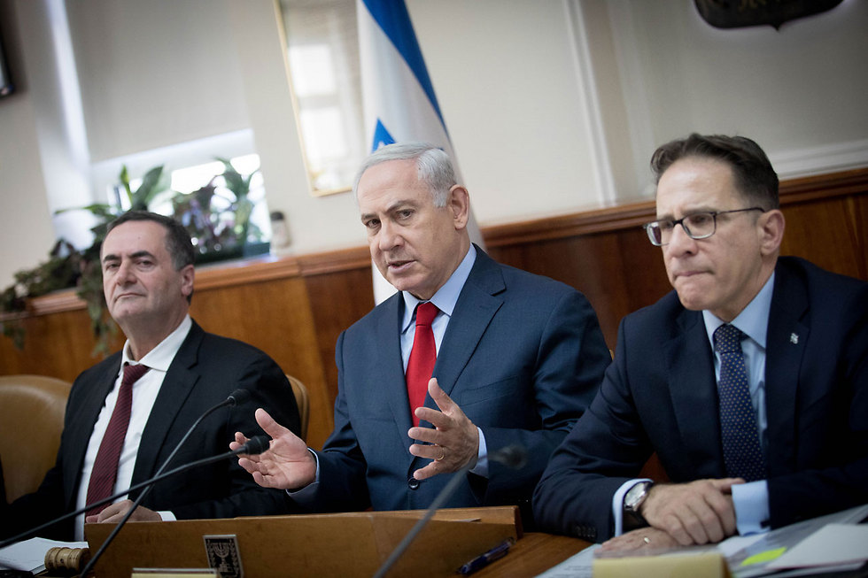 753 החלטות התקבלו בשנת 2017. ישיבת ממשלה (צילום: יונתן זינדל/פלאש90) (צילום: יונתן זינדל/פלאש90)