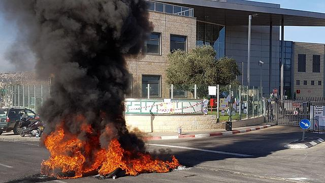 Jerusalem protests (Photo: Eli Mendelbaum)