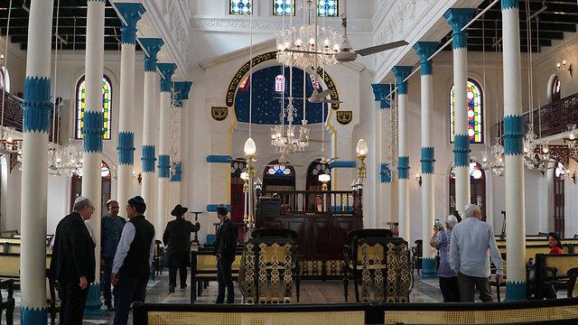 Calcutta synagogue (Photo: Israeli Embassy India)