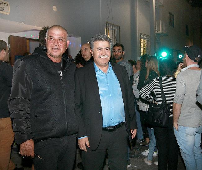 ביקור חשוב. חבר הכנסת עמיר פרץ (צילום: ענת מוסברג )