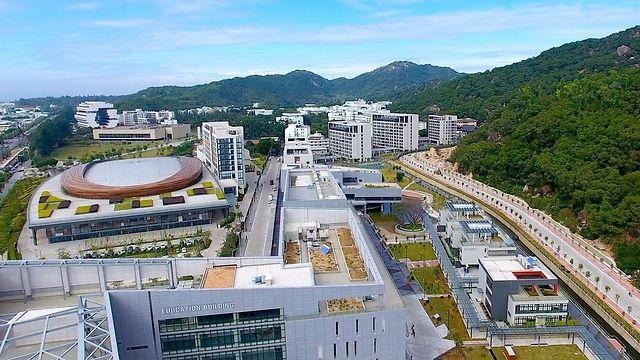 מבט על הקמפוס (צילום: מכון גואנגדונג-טכניון) (צילום: מכון גואנגדונג-טכניון)