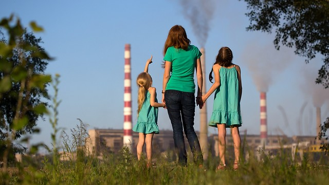 יש מגמת שיפור, אבל הדרך ארוכה. זיהום אוויר (צילום: shutterstock)