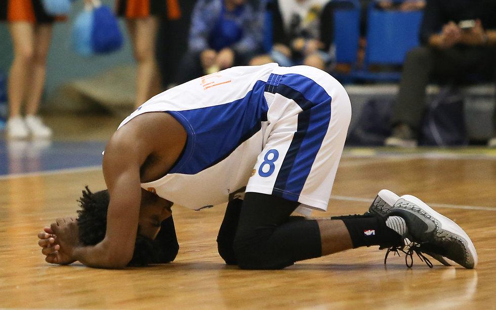 """שמעון אמסלם: """"קשה להגיע כבחור צעיר לקבוצה בסכנת ירידה"""" (צילום: עוז מועלם) (צילום: עוז מועלם)"""