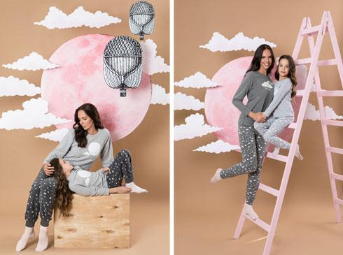 """רוית אסף ובתה ליה בקמפיין משותף לרשת """"אפרודיטה"""" (צילום: עדי אורני)"""