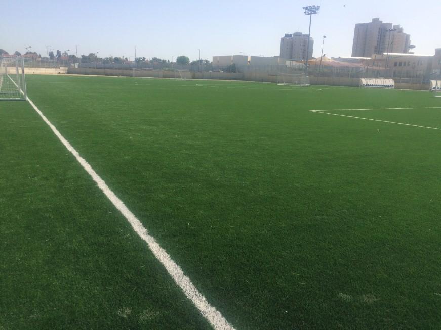 מגרש הכדורגל לנוער מדשא סינטטי בקריית גת