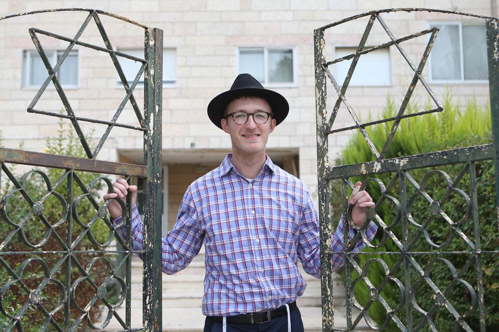 """גווין פטריק קולסון, השבוע בירושלים. """"לצבא האמריקאי יש מה ללמוד מצה""""ל"""" (צילום: אלכס קולומויסקי)"""