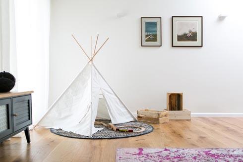 וגם אוהל משחק לילדים  (צילום: שירן כרמל)