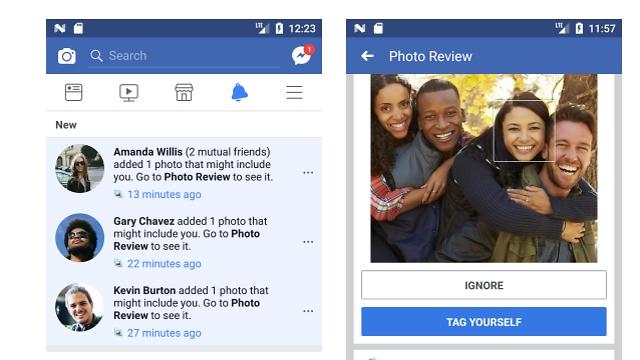 טכנולוגיה לזיהוי פנים בפייסבוק ()