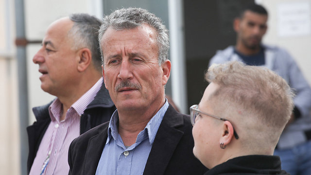 Bassem Tamimi, Ahed's father. A radical Palestinian who urges violence and helps spread blood libels against Israel (Photo: Ohad Zwigenberg)