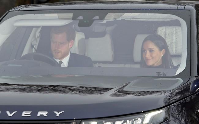 היו פקקים בדרך? הנסיך הארי ומייגן מרקל (Splashnews)
