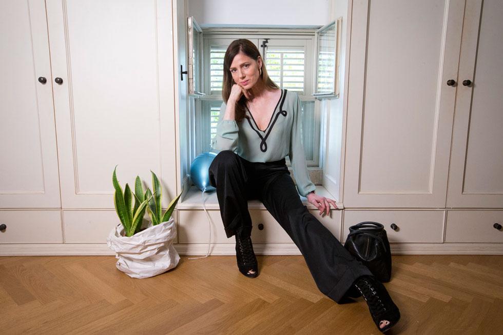 רונית יודקביץ', בת 52, דוגמנית, שחקנית, יזמת ואמנית רב תחומית (צילום: תומריקו)