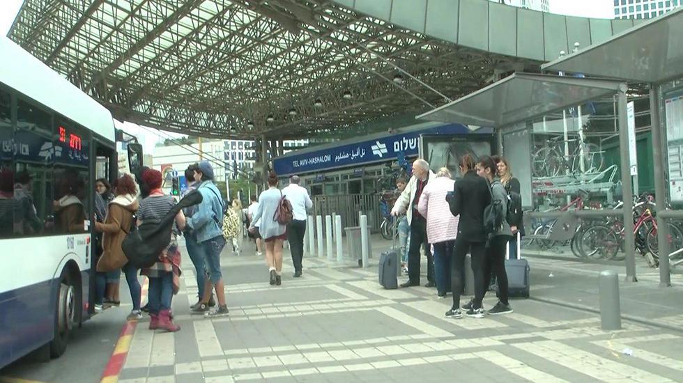 תחנת רכבת השלום. אחת מהבודדות שמממשת את הפוטנציאל (צילום: ליהי קרופניק) (צילום: ליהי קרופניק)
