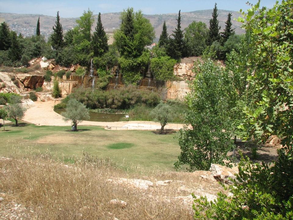 ריאה ירוקה: פארק המחצבות בכרמיאל (צילום: הקרן לשיקום מחצבות) (צילום: הקרן לשיקום מחצבות)