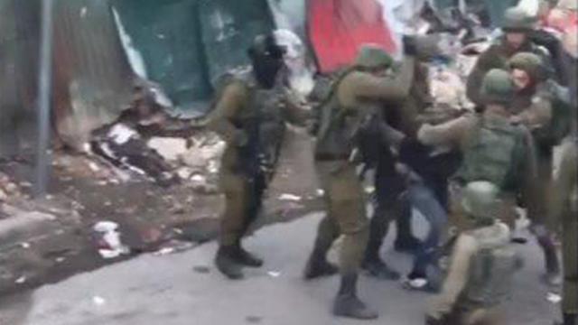 Screenshot from footage (Photo: B'Tselem)