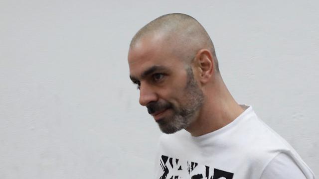 Amouyal in court (Photo: Shaul Golan)