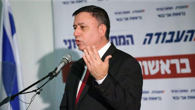 Zionist Union leader Avi Gabbay (Photo: Motti Kimchi)