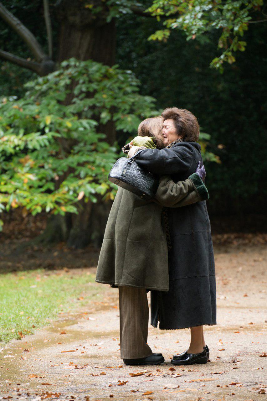 """השלמתי עם העובדה שריימונד לקח את הילדים"""". האיחוד המרגש בין ליליאן למישל (באדיבות yes דוקו) (באדיבות yes דוקו)"""