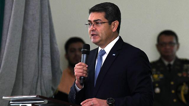 Honduran President Juan Orlando Hernández  (Photo: AFP)