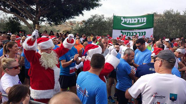 Рождественский забег в Галилее. Фото: Sunto