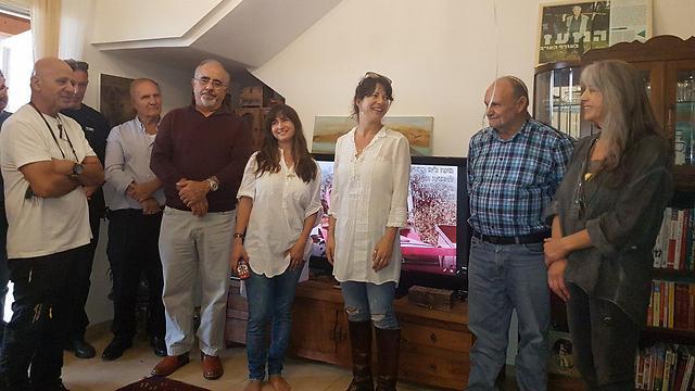משפחת ג'ינו, אתמול בבית שניצל (באדיבות המשפחה) (באדיבות המשפחה)