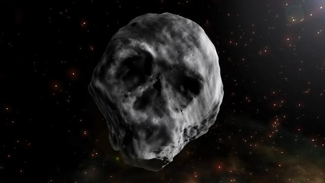 הדמיה של האסטרואיד (הדמיה: חוזה אנתוניו פאנס / SINC)