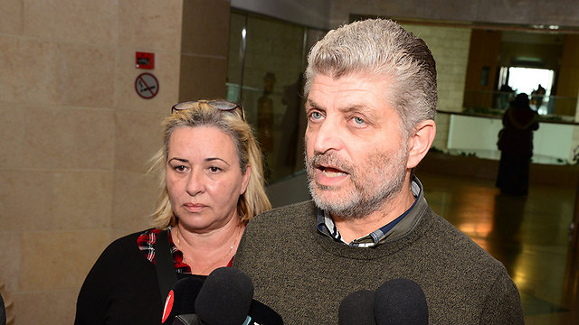 Kokia's father Boaz said he could kill his son's murders himself (Photo: Herzel Yosef)