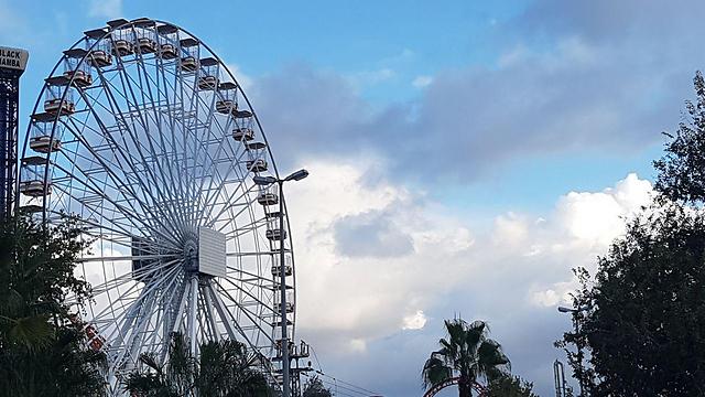 לונה פארק תל אביב (ארכיון) (צילום: רן רימון) (צילום: רן רימון)