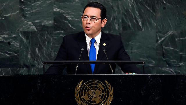 President Jimmy Morales  (Photo: AFP)