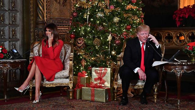 """הנשיא שמדבר לנוצרים: לא עוד """"חגים שמחים"""", אלא """"חג מולד שמח"""" (צילום: AFP) (צילום: AFP)"""