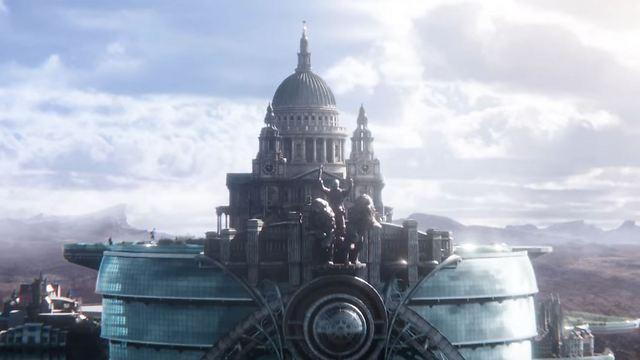 לונדון על גלגלים. מתוך Mortal Engines ()