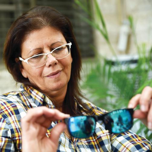 איריס רוימי והמשקפיים של שימי